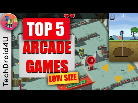 Top 5 Arcade Games for Android 2017 Hand picked! - TechDroid4U - 동영상