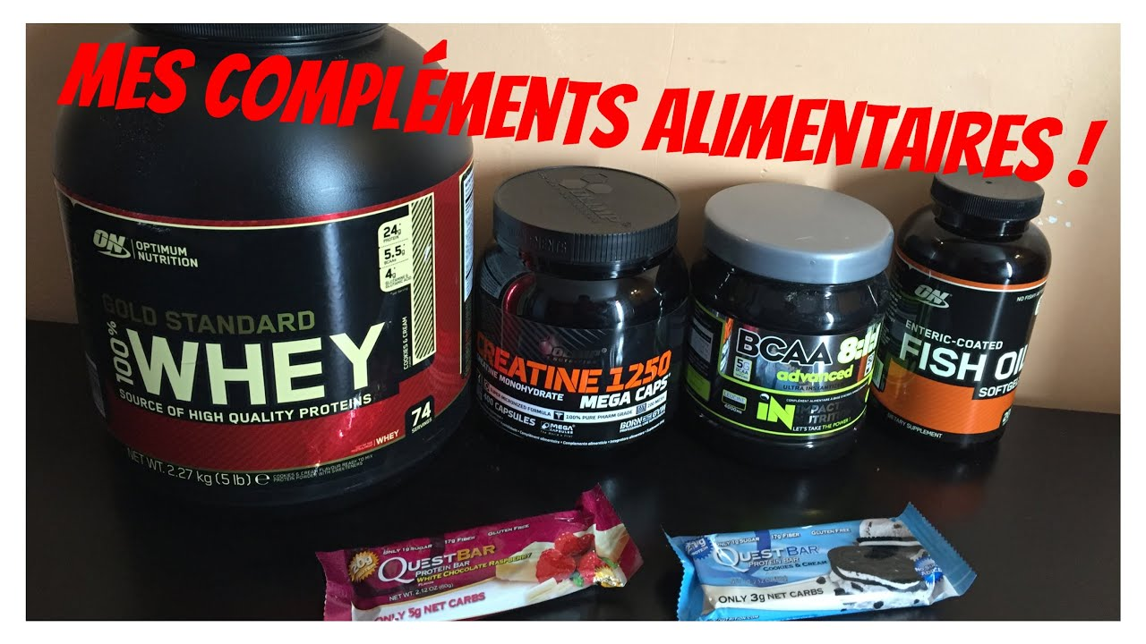 Grosguifit tous mes complements alimentaires musculation for Complement musculation