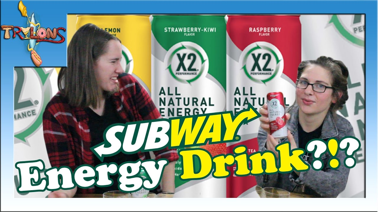 X2 All Natural Energy Tea From Subway Review Youtube