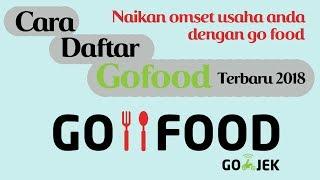 Cara Daftar Go Food Online Terbaru 2018