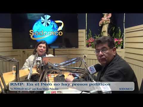 RMP: En el Perú no hay presos políticos