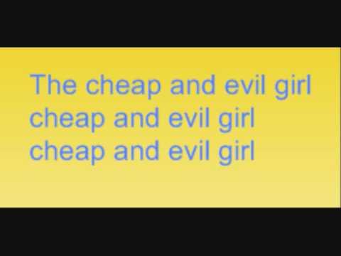 Bree Sharp - Cheap And Evil Girl Lyrics