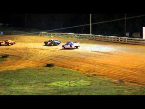 Bluegrass Speedway Sportsman Feature 9-25-2010