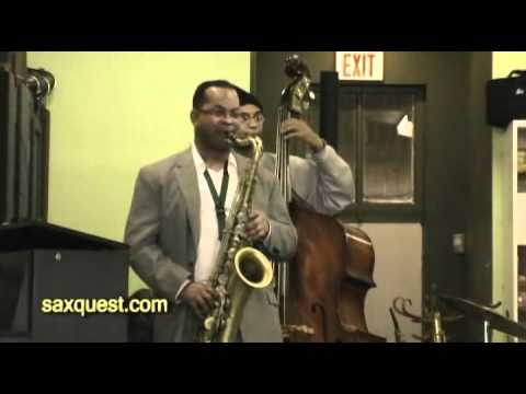 Saxquest - Victor Goines Clinic - November 13, 2010