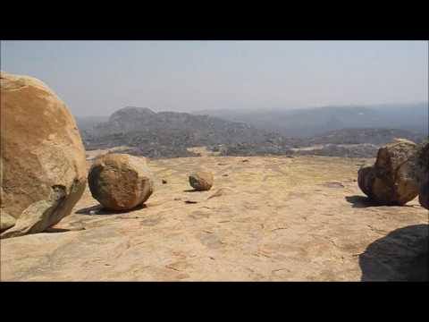 Matopos National Park, Zimbabwe - Granite Rock Weathering by Exfoliation