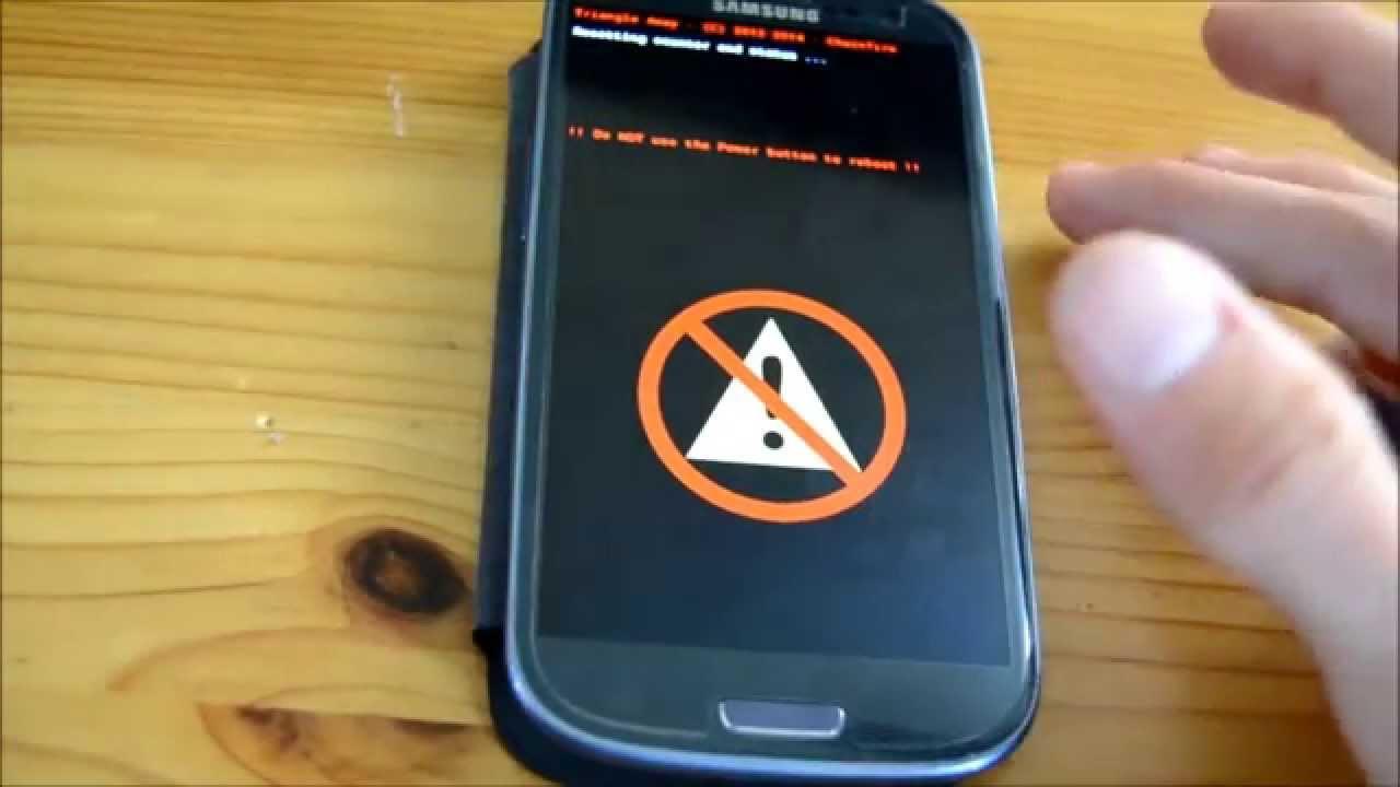 Galaxy S3 Zurücksetzen