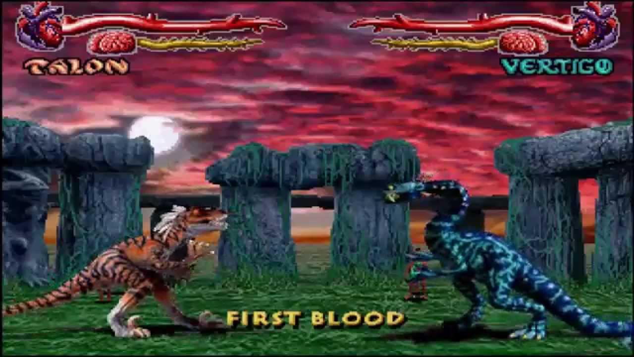Primal Rage Juego Clasico Luchas Entre Dinosaurios Y Mutantes