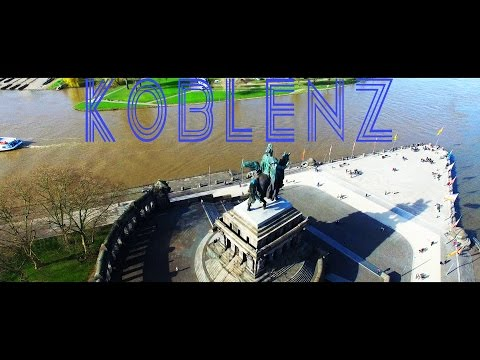 Epic Aerial Drone Footage above Koblenz Germany