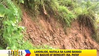 Man killed in Benguet landslide