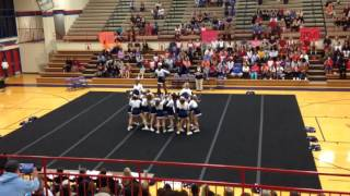 DSF Competition Cheer 2016. District Competition