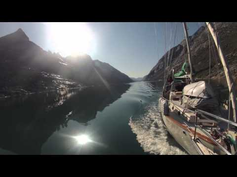 Prins Christian Sund, Greenland Sailing Adventure Timelapse