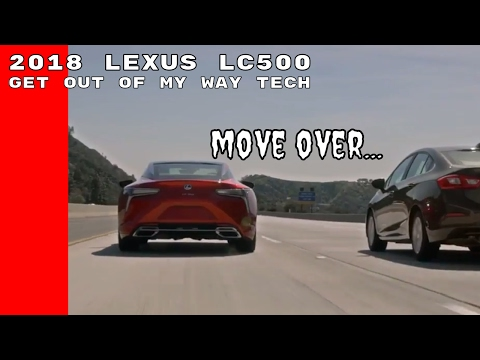 2018 Lexus LC500 Lane Valet System