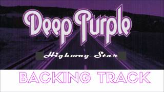 Deep Purple Highway Star Full Backing Track (No Vocals)