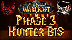 Classic WoW Hunter BiS List Phase 3