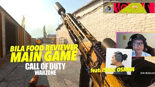 Bila Food Reviewer Main Game COD Warzone ft. Isaac Osman, Nurehalfis & Putcem (MALAYSIA)
