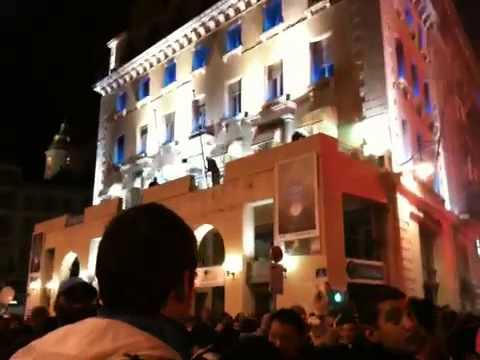 Marseille vieux port soir du titre 05/05/10