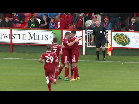 Accrington 3 - 0 Carlisle United - match highlights