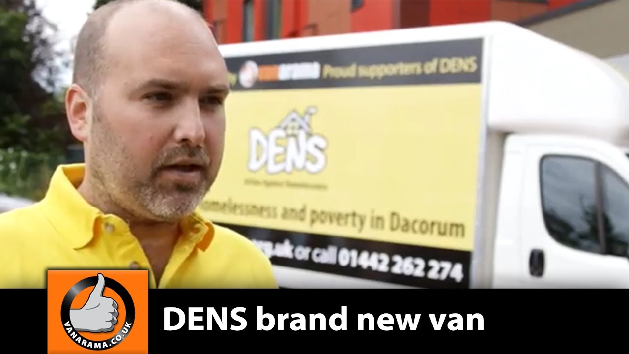 DENS takes delivery of brand new van from Vanarama