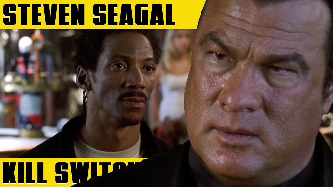 STEVEN SEAGAL Let's Talk With Our Fist   KILL SWITCH (2008)