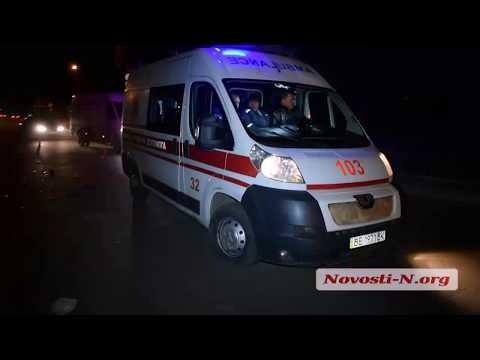 Видео 'Новости-N': В Николаеве «Ленд Крузер» насмерть сбил женщину
