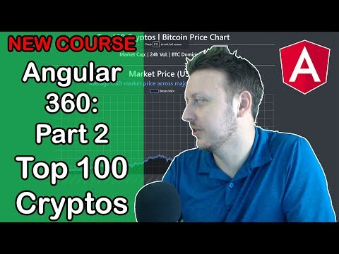 New Angular Udemy Course!!! Angular 360: Part 2 | CryptoCurrency API Project