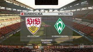 """Fifa 18#025 31.spieltag 17/18 vfb stuttgart gegen sv werder bremen """"auswärtssieg!?"""" [hd][ps4]"""