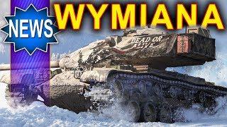 Wymiana czołgów już od jutra w World of Tanks
