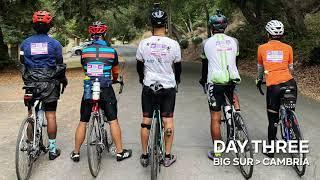 Day 3 - Big Sur to Cambria - Cycle For Education