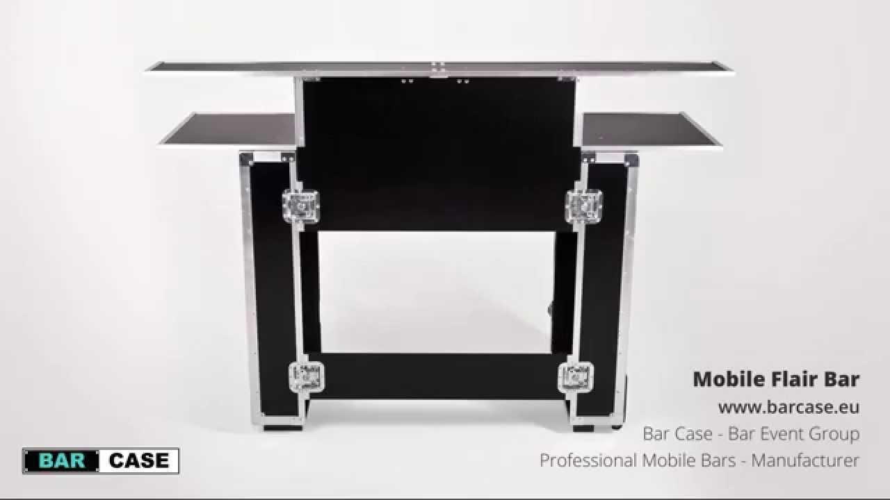 Charmant Mobile Flair Bar  Www.barcase.eu  Professional Portable Bars Manufacturer