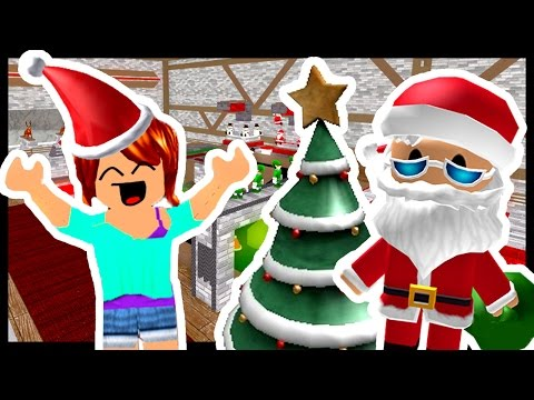 WORKING AT SANTAS FACTORY! – Roblox – Christmas Tycoon