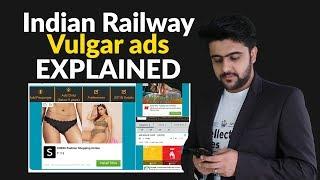 Indian Railway Vulgar ads Explained