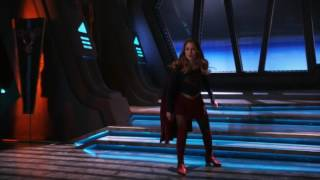 Supergirl and mon El mother fight scene