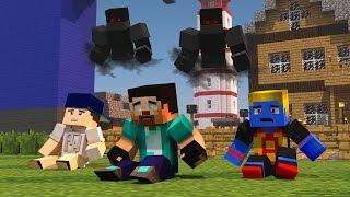 Minecraft: PARAÍSO - #95 ELES QUEREM NOS PEGAR