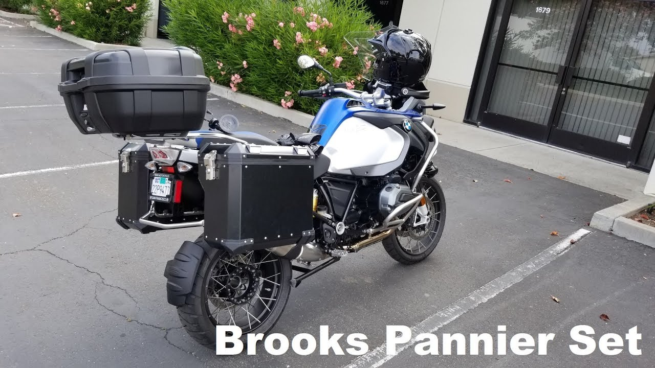 Brooks Pannier System Black Left Right Review 2015
