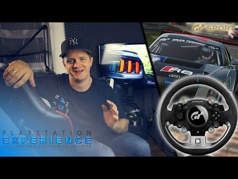 Thrustmaster T-GT / Eindruck Test / Gran Turismo Sport PS4 PRO Wheel / Raceroom RR3055 Rennsitz