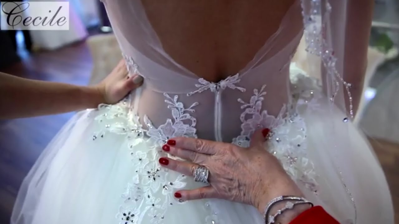 Königin des Bling-Bling: Pnina Tornai-Prinzessinnen-Brautkleid - YouTube