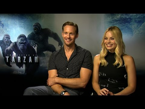 The Legend of Tarzan interview: hmv.com talks to Alex Skarsgård , Margot Robbie & Djimon Honsou