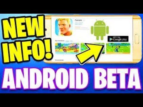 Fortnite Android Beta Version APK (free Download)