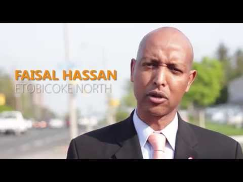 Faisal Hassan NDP Nomination for Etobicoke North