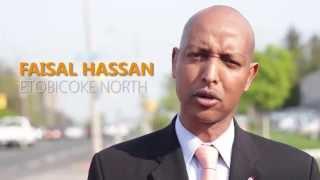 Faisal Hassan NDP Nomination for Etobicoke North