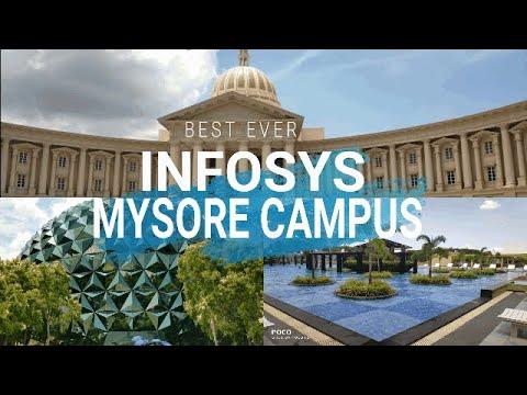 Infosys Mysore Campus tour