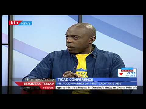 Business Today 26th August 2016 [Part 1] - TICAD Conference Interviews on Technology transfer