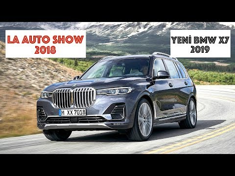 Yeni BMW X7 2019: LA Auto Show 2018