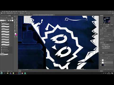 Weird photoshop problem when resizing texture file