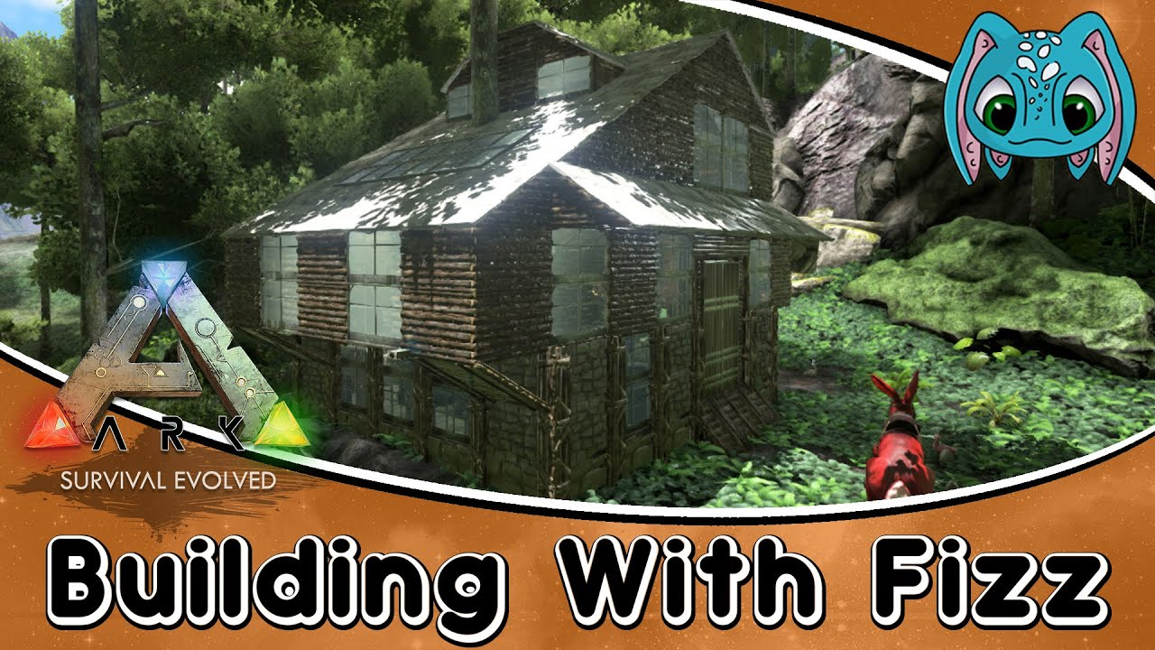 Ark survival evolved building w fizz how to build a for Modern house ark
