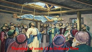 Daily Mass I English Thursday I 13 Week in the Ordinary Time I Carmelite Monastery, Margao, Goa