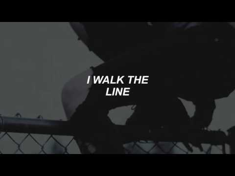 i walk the line // halsey lyrics