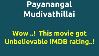 Video Payanangal Mudivathillai |1982 movie |IMDB Rating |Review | Complete report | Story | Cast download MP3, 3GP, MP4, WEBM, AVI, FLV November 2017