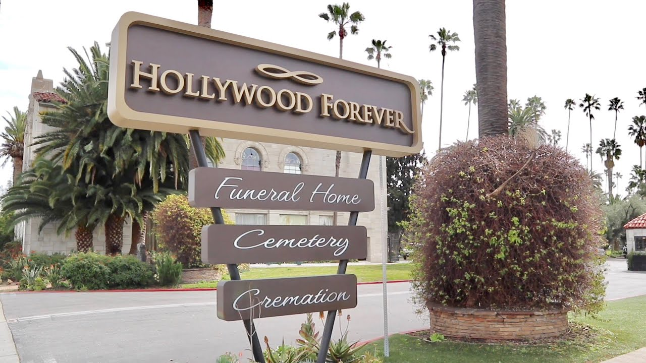 Hollywood Forever Cemetery - Famous Celebrity Grave Tour / Movie Star History & MUCH MORE