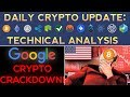 HUGE CRYPTO DROP Caused By Google & US Government!?